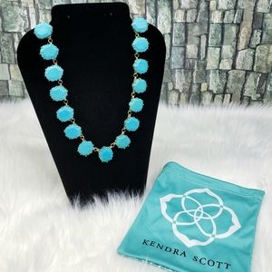 Kendra Scott Sam Turquoise Stone Necklace